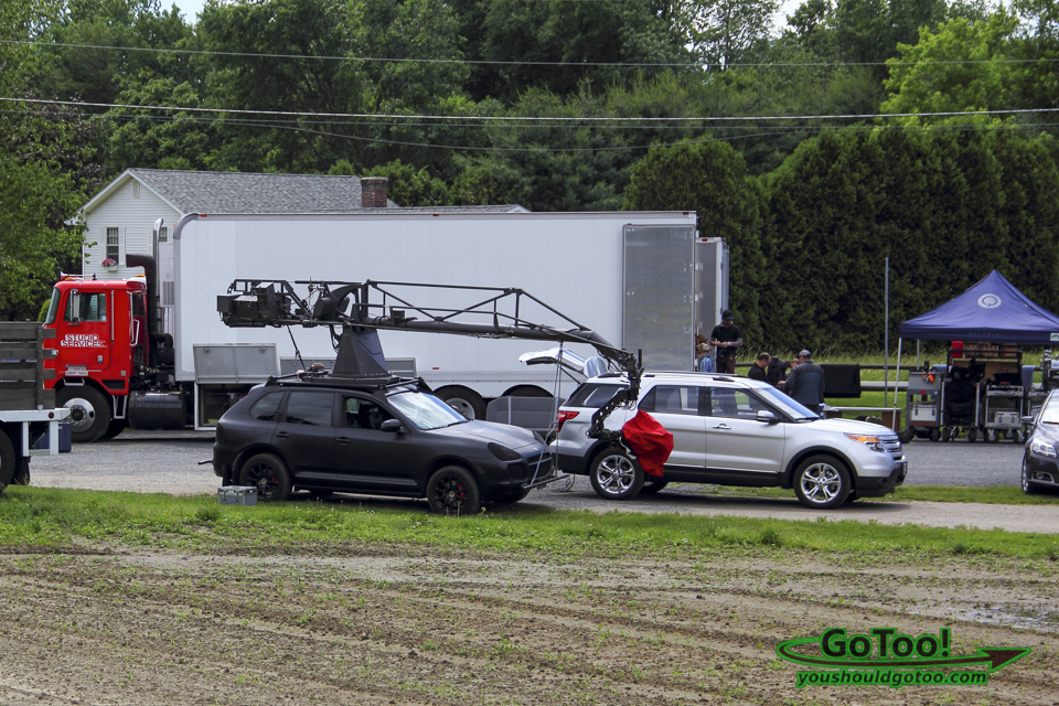 Porsche Cayenne used to film The Judge with Robert Downey Jr