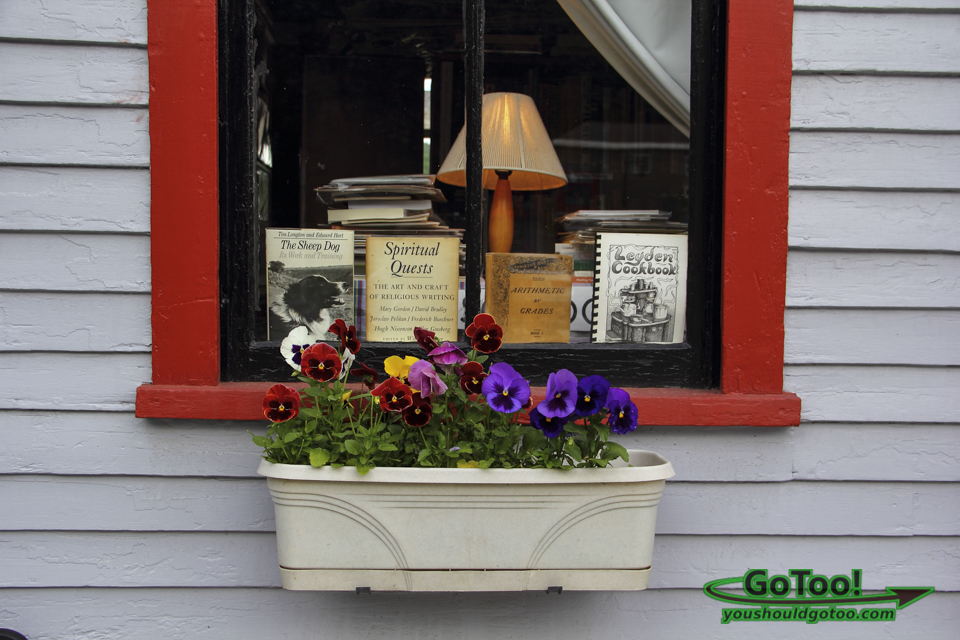 Shops in Shelburne Falls Window Display
