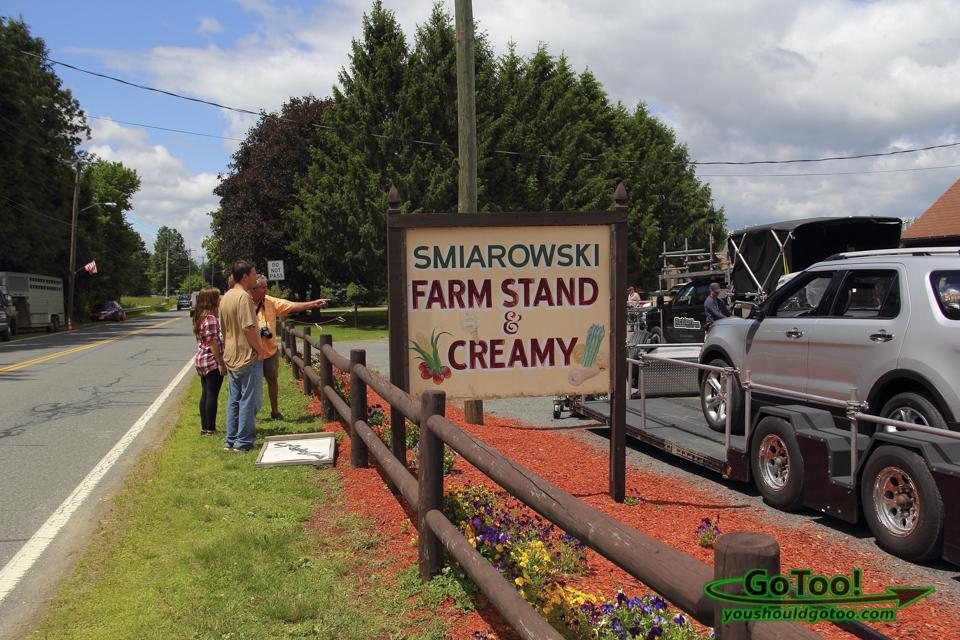 Smiarowski's farm stand Sunderland MA
