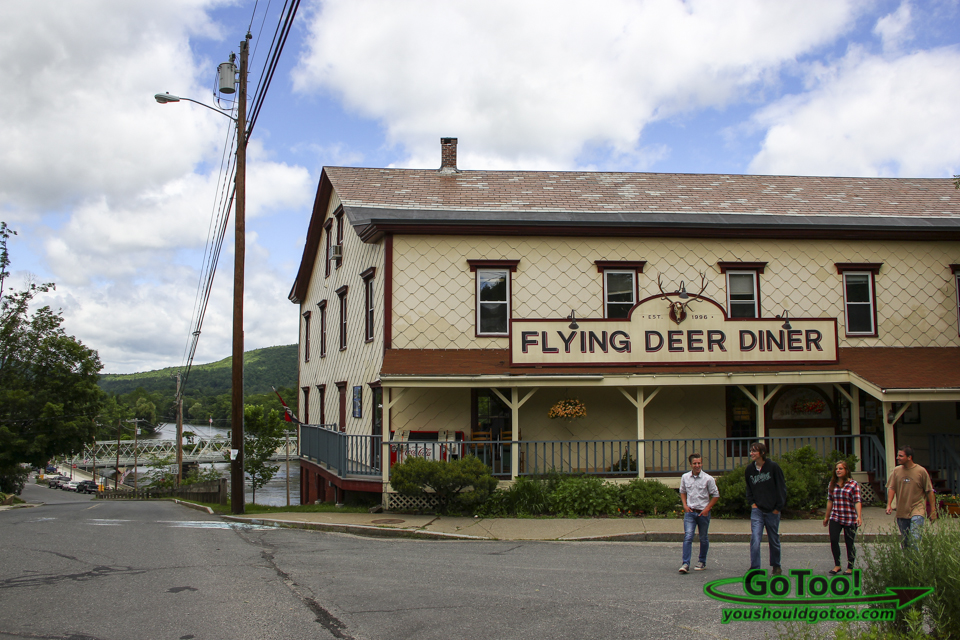 The Flying Deer Diner in The Judge Movie