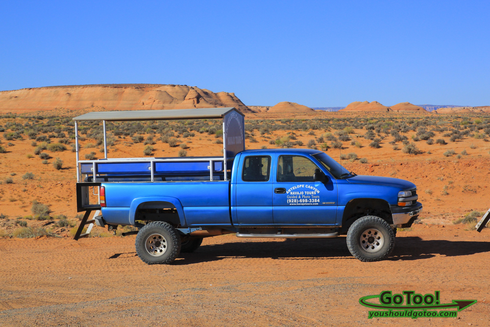 Antelope Canyon 4 Wheel Drive Tour Vehicle