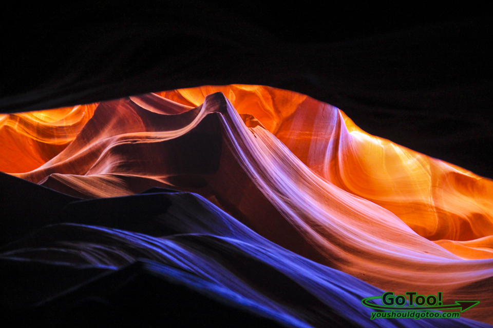 Antelope Canyon Colorful Navajo Sandstone