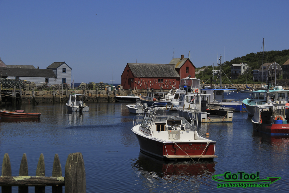 Boats in Rockport MA