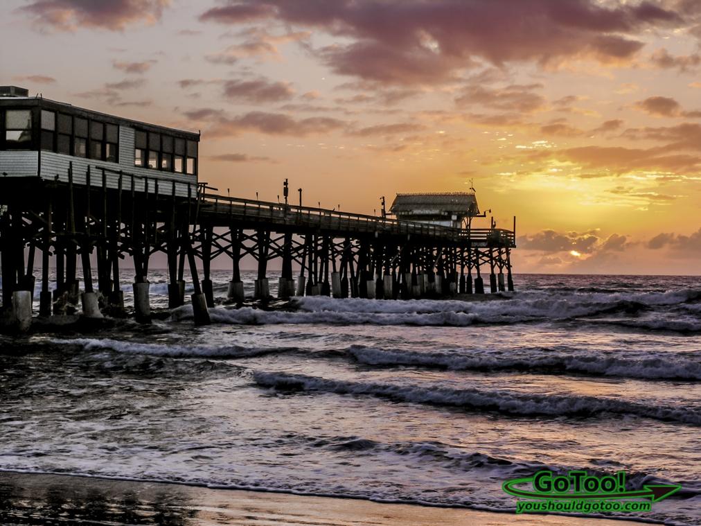 Cocoa Beach Pier Florida