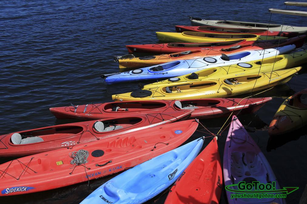 Colorful Kayaks Rockport MA