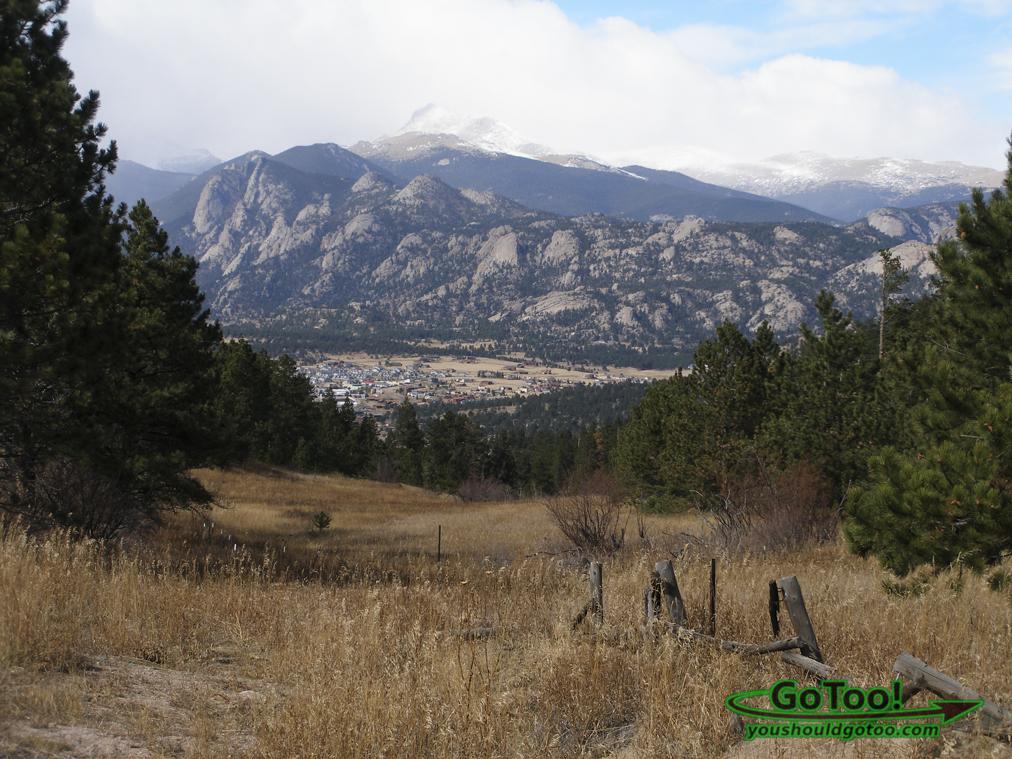 Estes Park Colorado Overlook