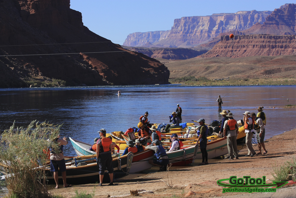 Lees Ferry Rafting Arizona