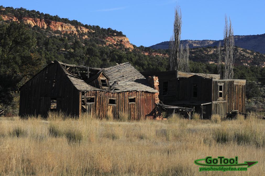 Old Gunsmoke Set Utah