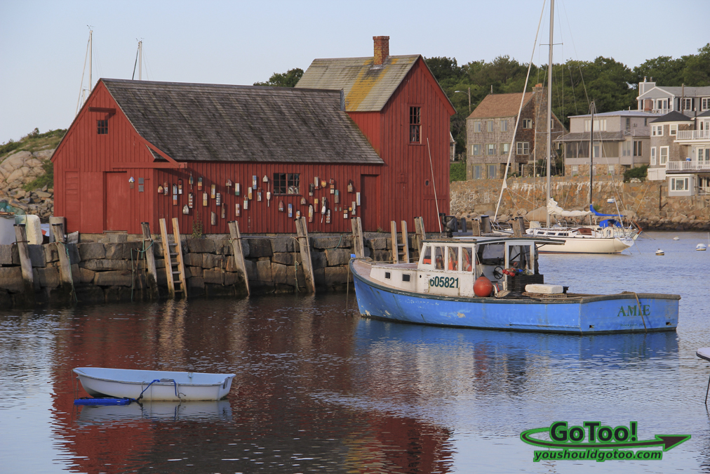 Red Boathouse Rockport MA