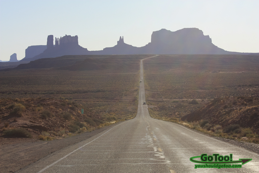 Road to Monument Valley Arizona