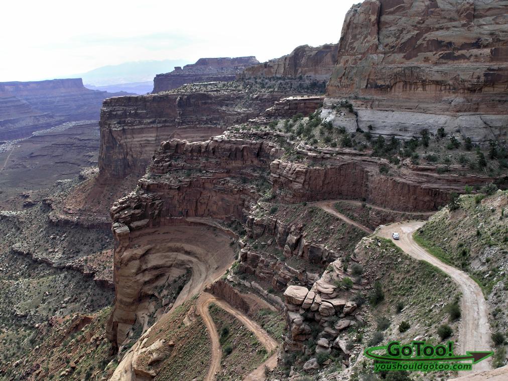 Shafer Trail Canyonlands Utah
