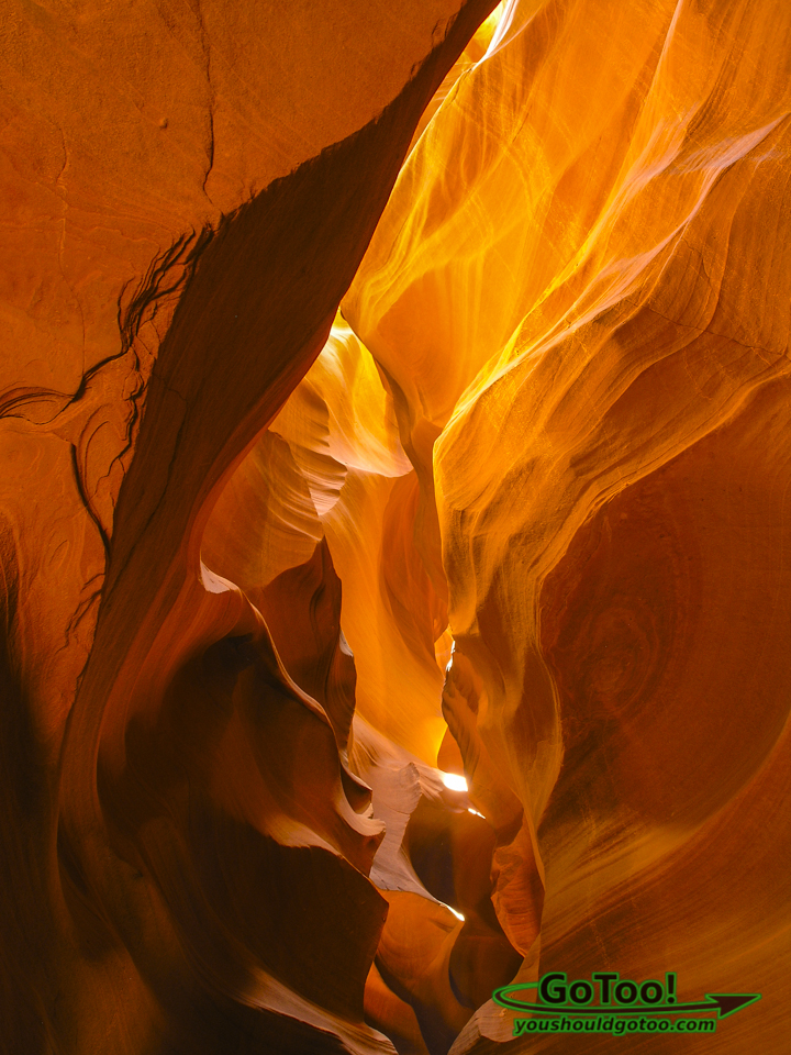 Stunning Colors in Upper Antelope Canyon