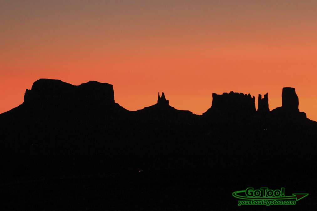 Sunrise Monument Valley Arizona
