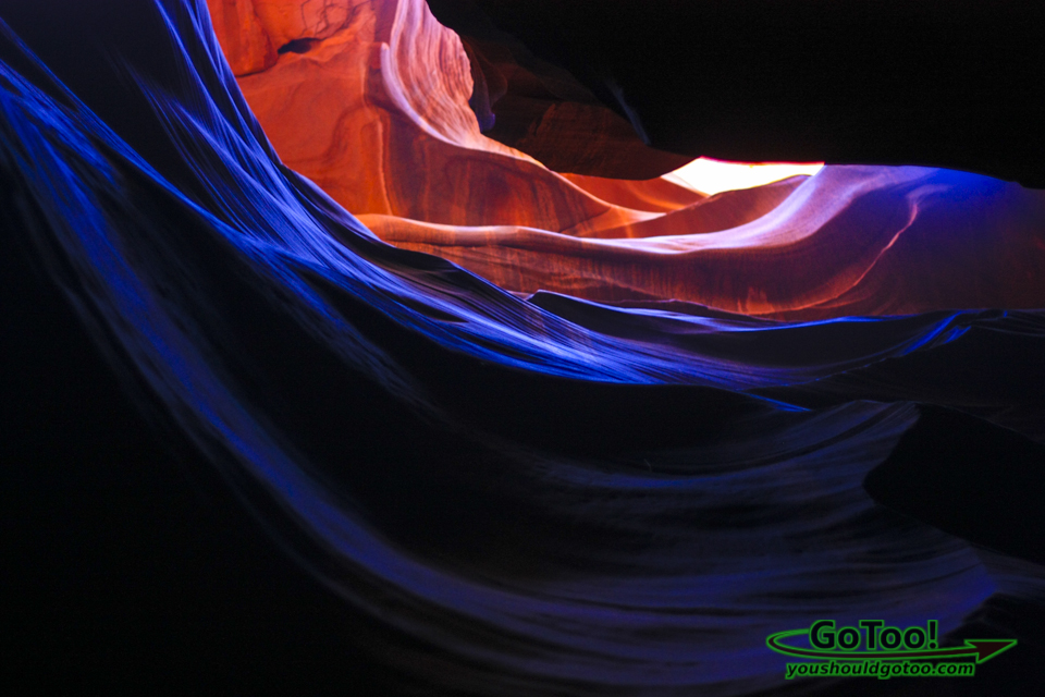 Swirling Colors in Antelope Canyon