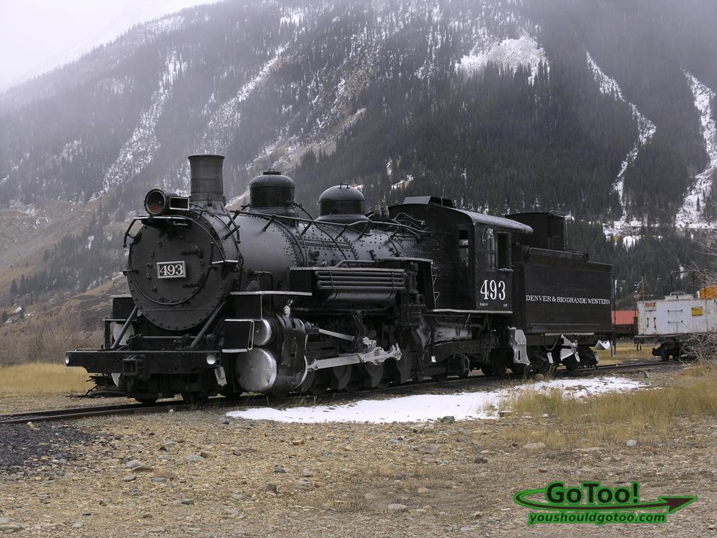 Train in Silverton Colorado