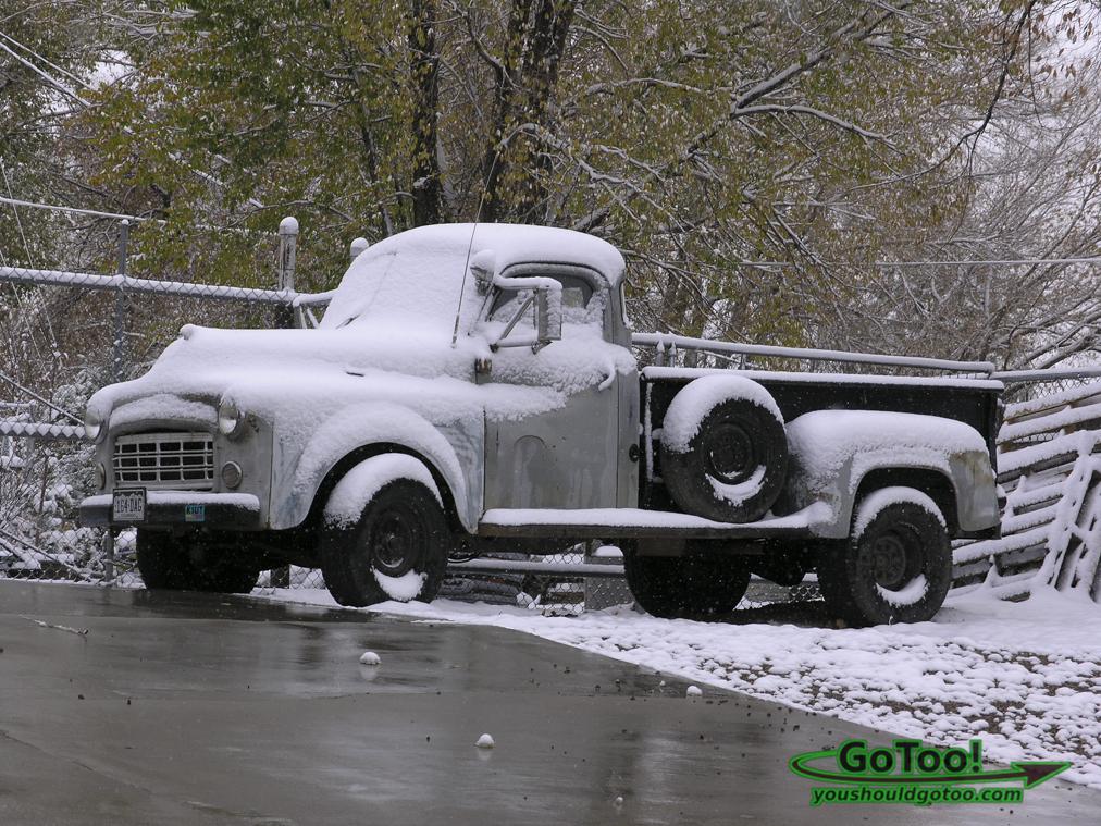 Truck in Colorado