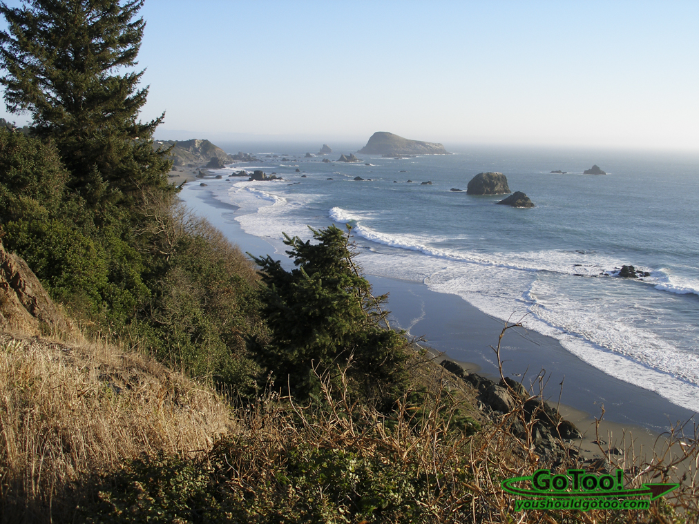View of Oregon Coast