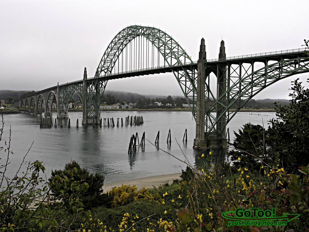 Yaquina Bay Bridge Oregon