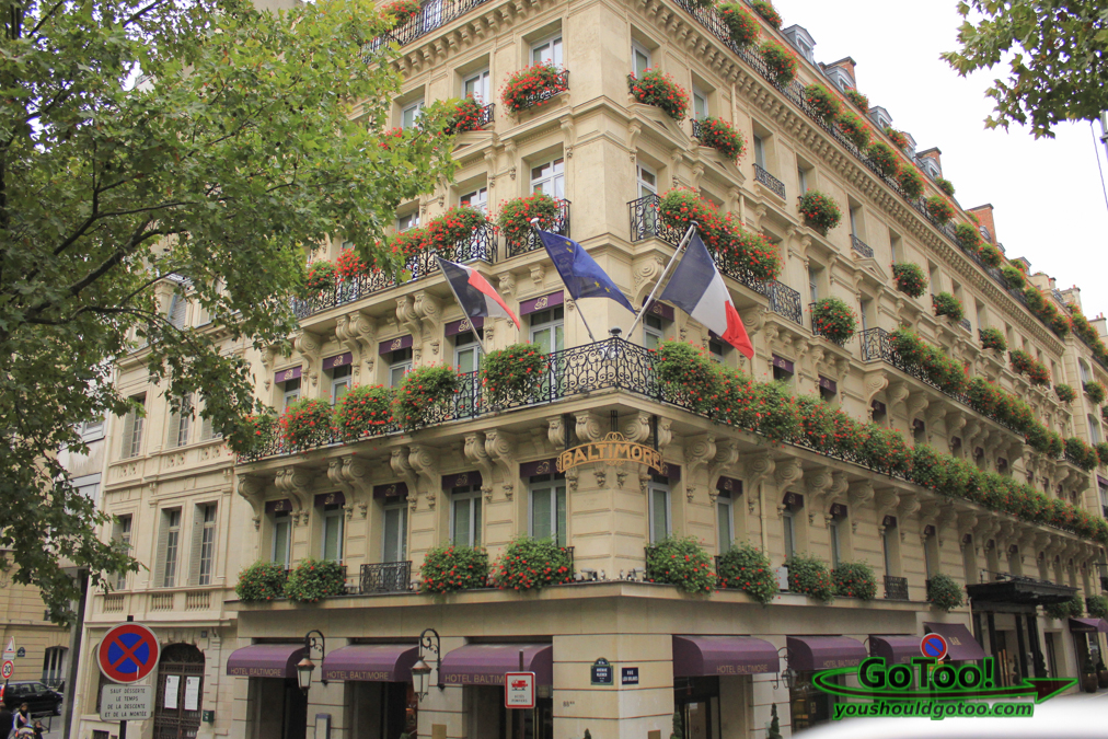 France for Hotel baltimore paris