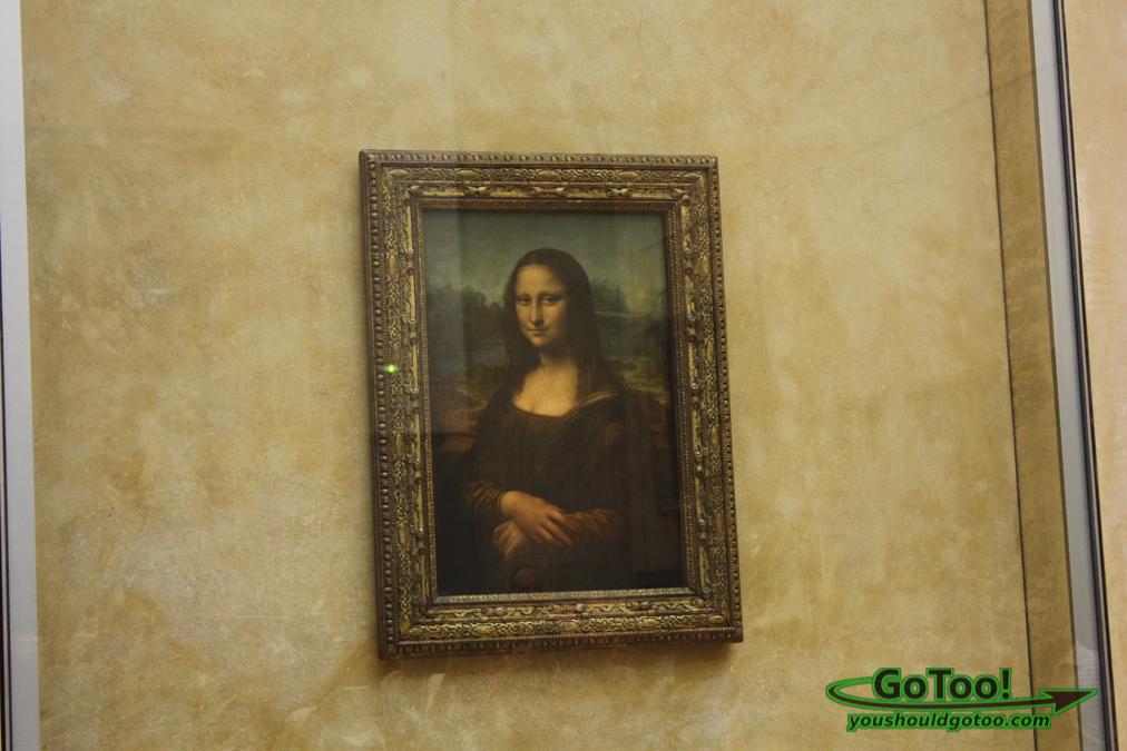 Mona Lisa The Louvre Paris France