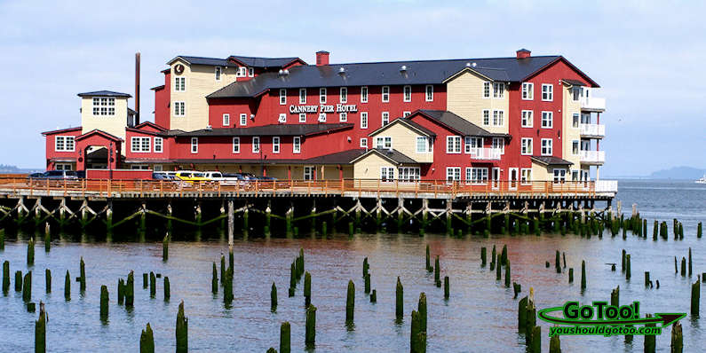 Cannery Pier Hotel, Oregon