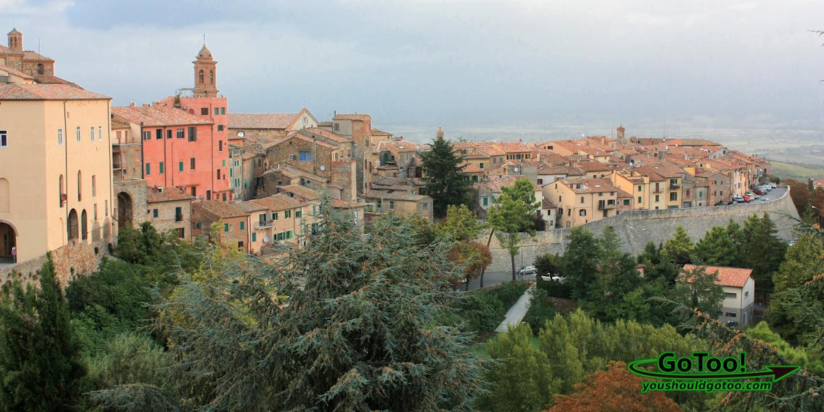 Montepulciano Italy Overlook