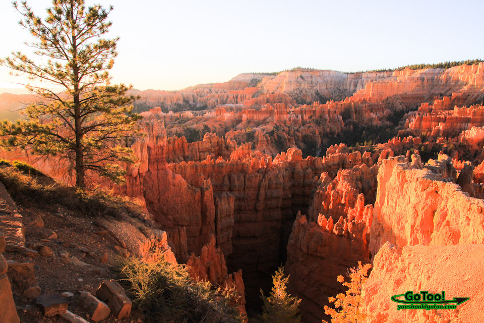 Sunrise Vista Bryce Canyon National Park Utah