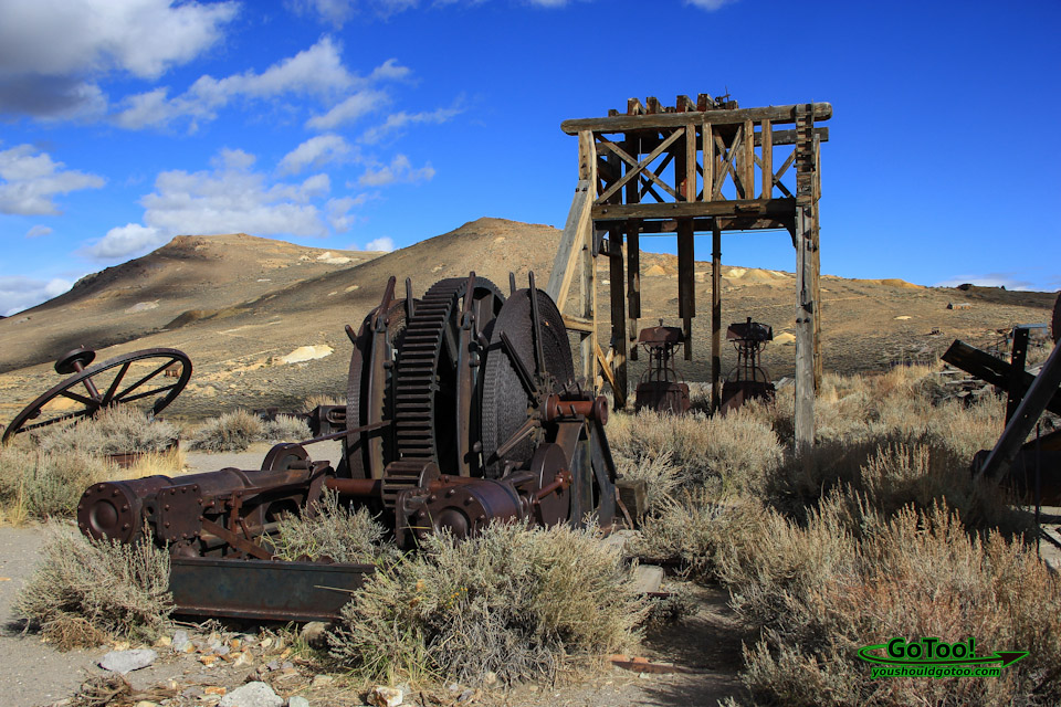 Abandoned Machinery and Equipment Bodie State Park