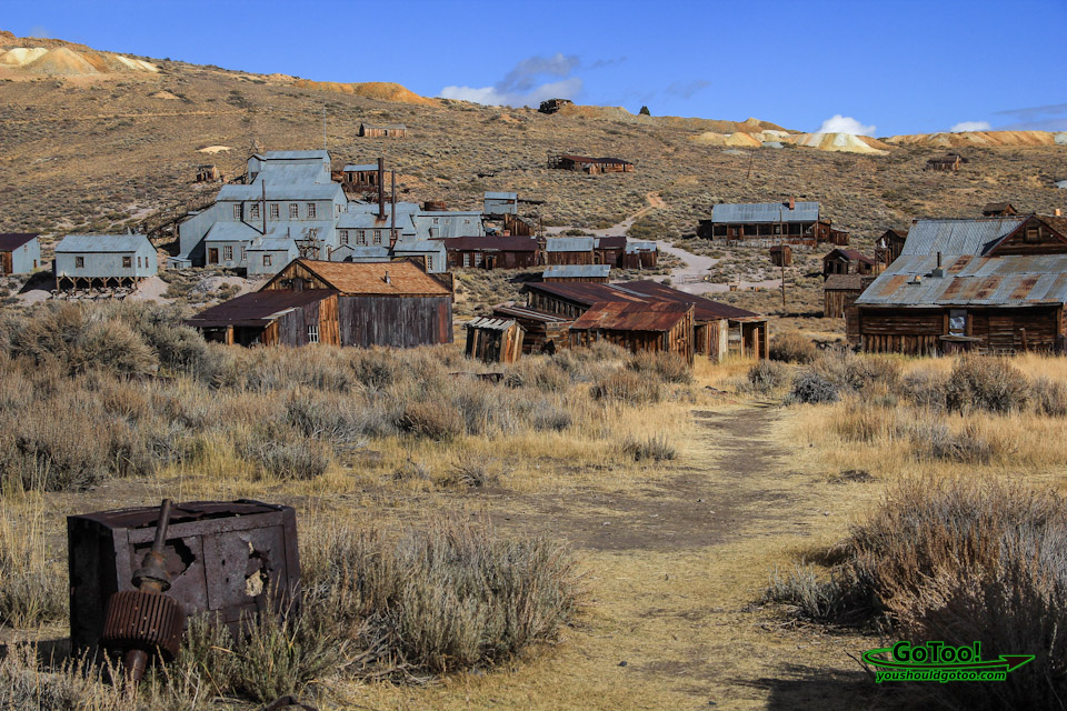 Bodie Ghost Town Mill Pathway