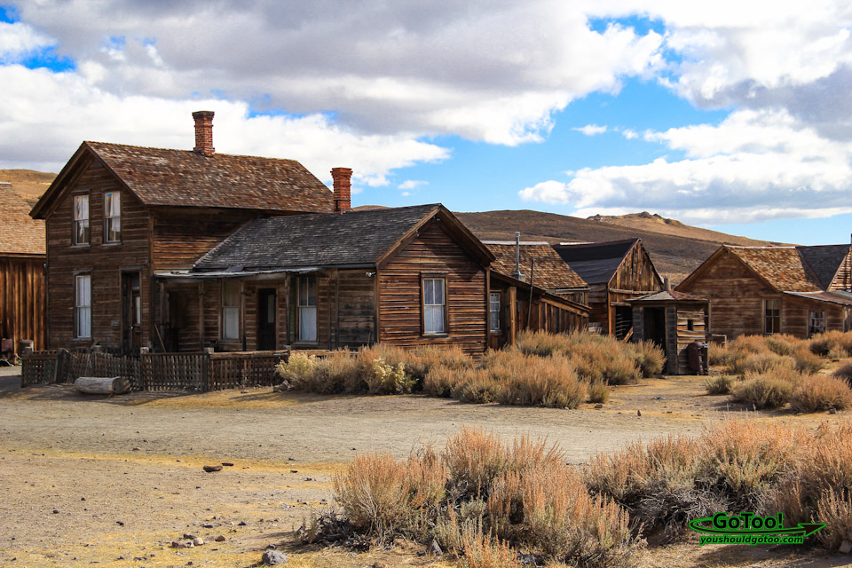 Bodie State Park Abandoned Buildings in Arrested Decay