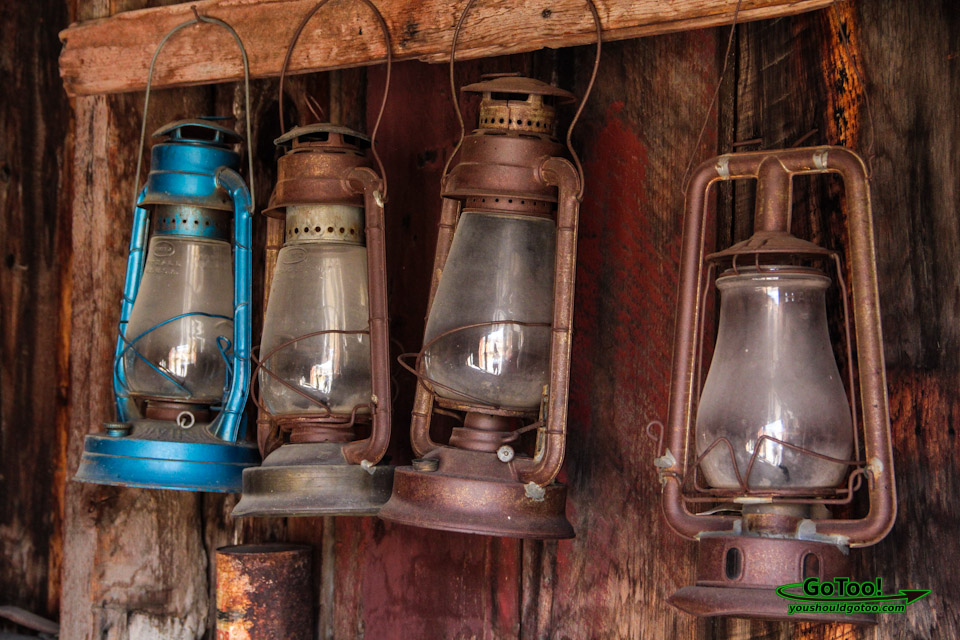 Firehouse Lanterns Bodie CA Ghost Town