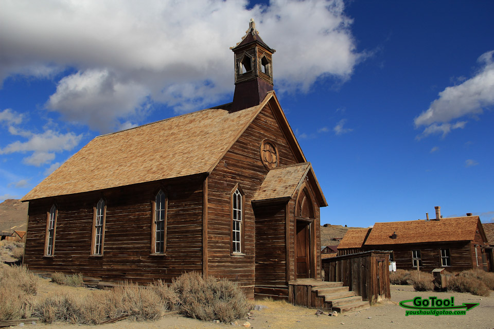 Methodist Church Bodie State Park Ghost Town