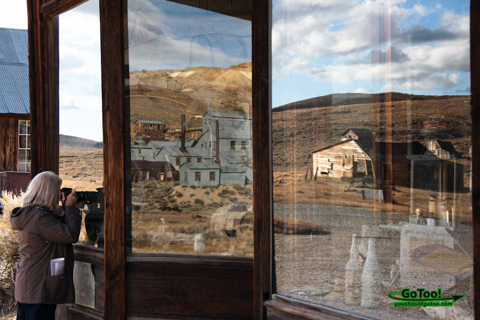 Reflections of Bodie State Park Ghost Town