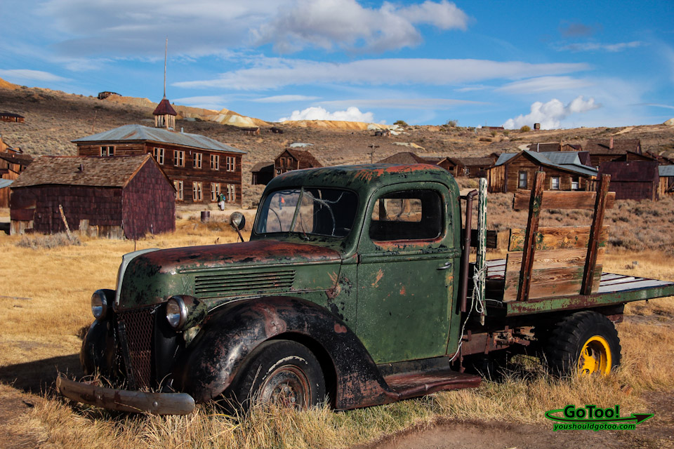 Rusted Truck in Bodie CA Ghost Town